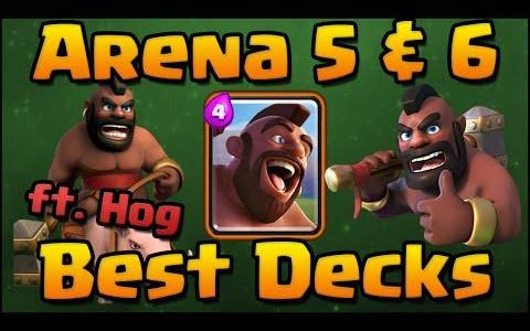 Hogs Rider best deck