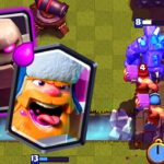 Clash Royale-Golem Lumberjack Deck for Arena 8+ Easy 3 Crowns