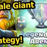Push to Legendary Arena with No Epic-Clash Royale