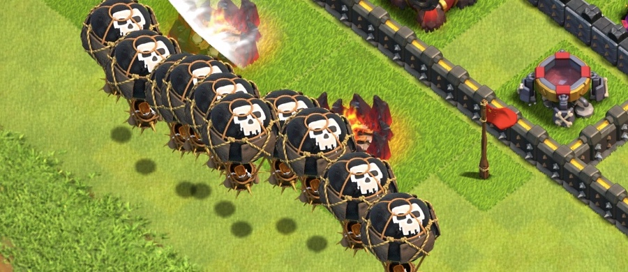 lavaloon th9 attack