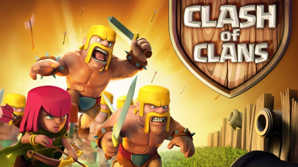 Addicted to Clash of Clans