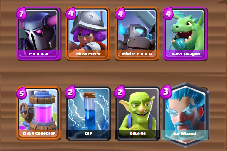 Clash Royale Offensive Double Pekka Deck For Arena 6 7