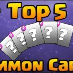 Clash Royale Top 5 Common Cards To Upgrade–Don't Waste A Single Coin