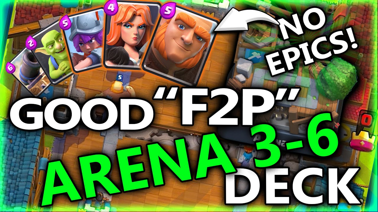 Giant arena 5 deck