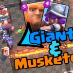 Clash Royale-Giant Counter Push Deck for Arena 4+