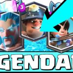 Clash Royale-Pompeyo's triple legendary deck Arena 8+