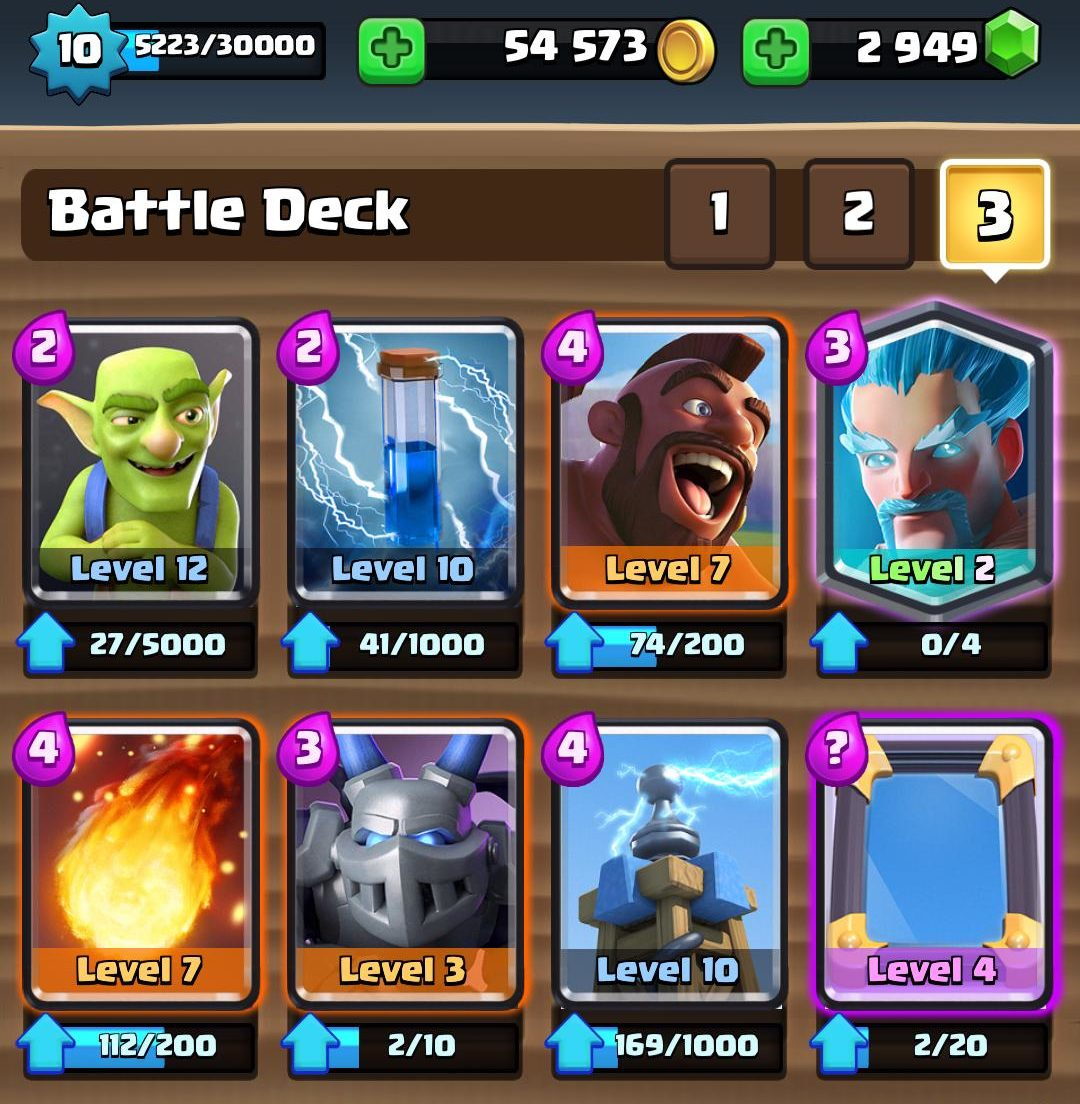 Mega Minion deck