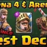 Clash Royale-Best Prince Deck for Arena 4,5 and 6