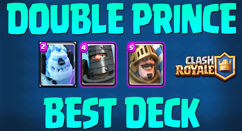 Ice Golem Double Prince Deck