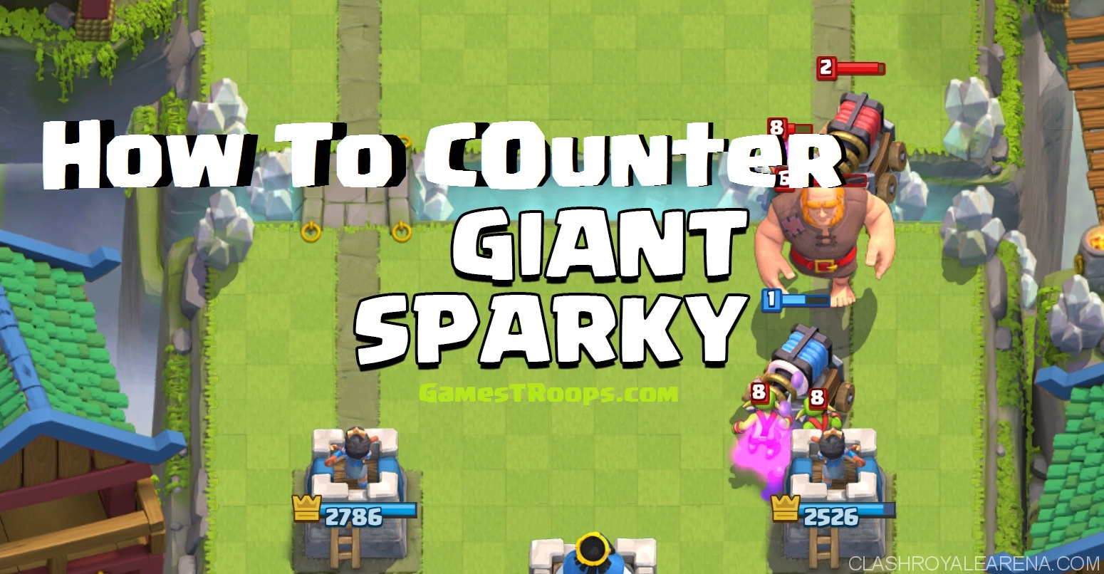 counter Giant Sparky
