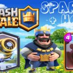 Clash Royale-Hog Sparky Deck for Arena 7 to Arena 9