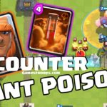 Clash Royale-How To Counter Giant Poison Decks Best Guide