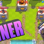Clash Royale-Challenge Winning Miner Rocket Deck For Arena 7+