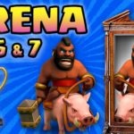 Clash Royale-Finally Hog Trifecta Arena 5 Deck Back