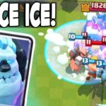 Clash Royale-F2P Hog Ice Golem Deck Arena 7+