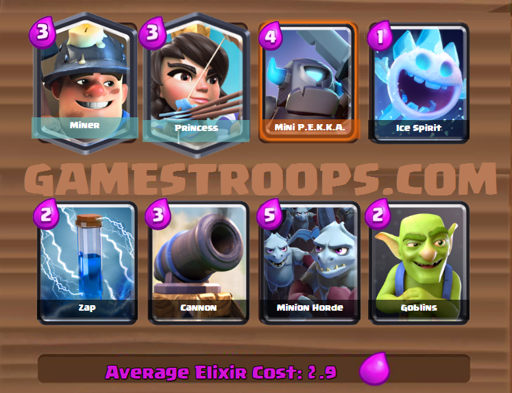 Princess Miner deck