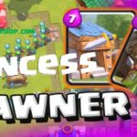 Clash Royale Barbarian Hut Princess Spawner Deck Arena 6+