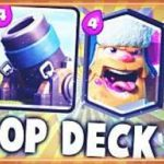 Clash Royale-Lumberjack Mortar Deck For Arena 9
