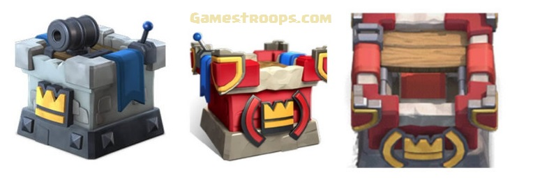Clash Royale December Update Leak - Red Tower,Balances Changes