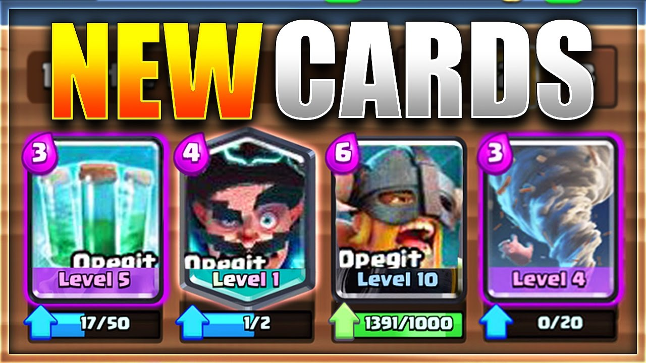 Clash Royale- 4 New Cards Leaked Gameplay And Full Details