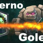Clash Royale Golem Inferno Dragon Deck Arena 9+ 2017