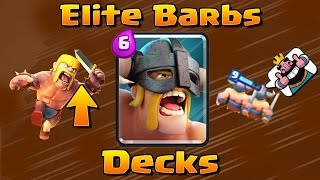 Best Elite Barbarians Deck