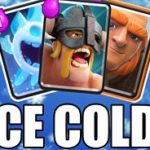 Clash Royale- Giant Ice Spirit Beatdown Deck With Elite Barbarian