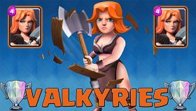 Clash Royale Valkyrie Guide