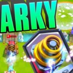 Clash Royale- Sparky Tornado Deck For Arena 9: Sparknado GUIDE