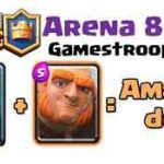 Clash Royale-Giant Clone Spell Deck For Arena 8+
