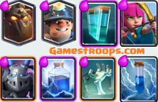 Top 5 Clash Royale Best Clone Spell Decks 2018 Arena 8 Deck
