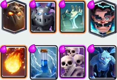 Lava Electro Wizard Balloon Deck