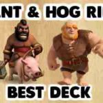 Clash Royale- F2P Giant Hog Deck For Arena 5 And Arena 6