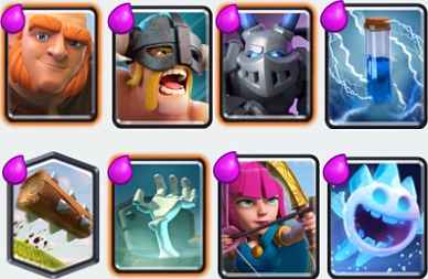 Top 5 Elite Barbarians Deck