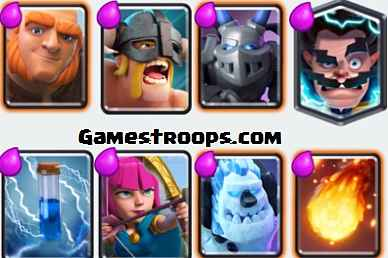 Electro Wizard Giant Deck