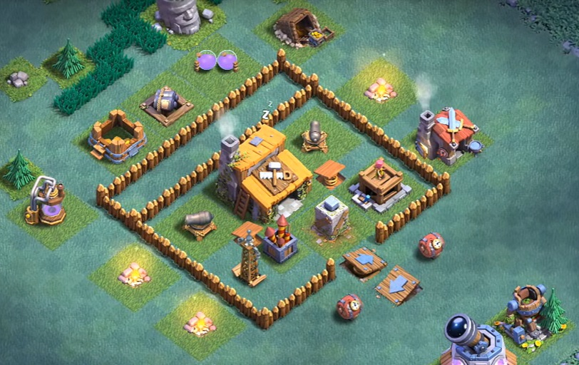 Clash of clans top 3 builder hall level 3 base bh3 2000 Best builder house 4 base