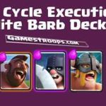 Clash Royale-Tornado Executioner Hog Cycle Deck Arena 10 Deck