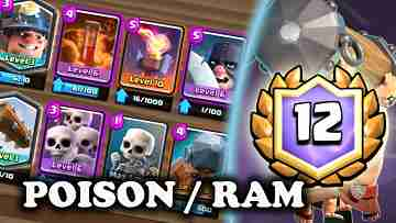 Battle Ram Poison Miner Deck