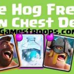 Clash Royale-Hog+EB+Freeze To Farm Crowns quickly Clan Chest Deck