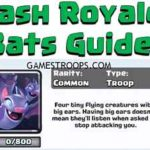 Clash Royale Bats Guide , Tips ,Strategy , Stats And Gameplay