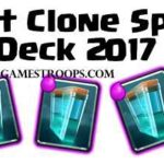 Clash Royale- Top 5 Best Clone Spell Decks 2017 | Clone Spell Combos
