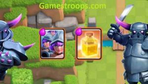 Three Musketeers Pekka Heal Spell Deck