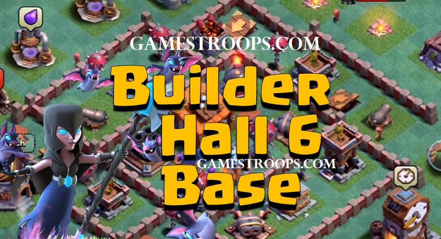 Clash Of Clans Builder Hall 6 Base Quot New Bh6 Defence Base Coc