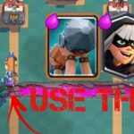 Clash Royale – Poison Miner Battle Ram Bandit Deck Arena 9+