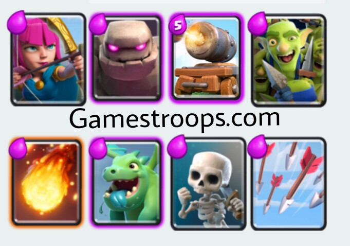 Golem Cannon Cart Deck Best Deck After balance Update