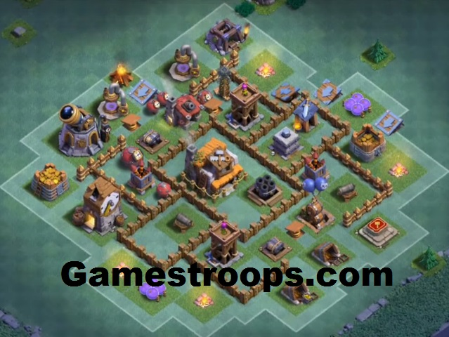 Coc Versus Battle Base Th 5 8