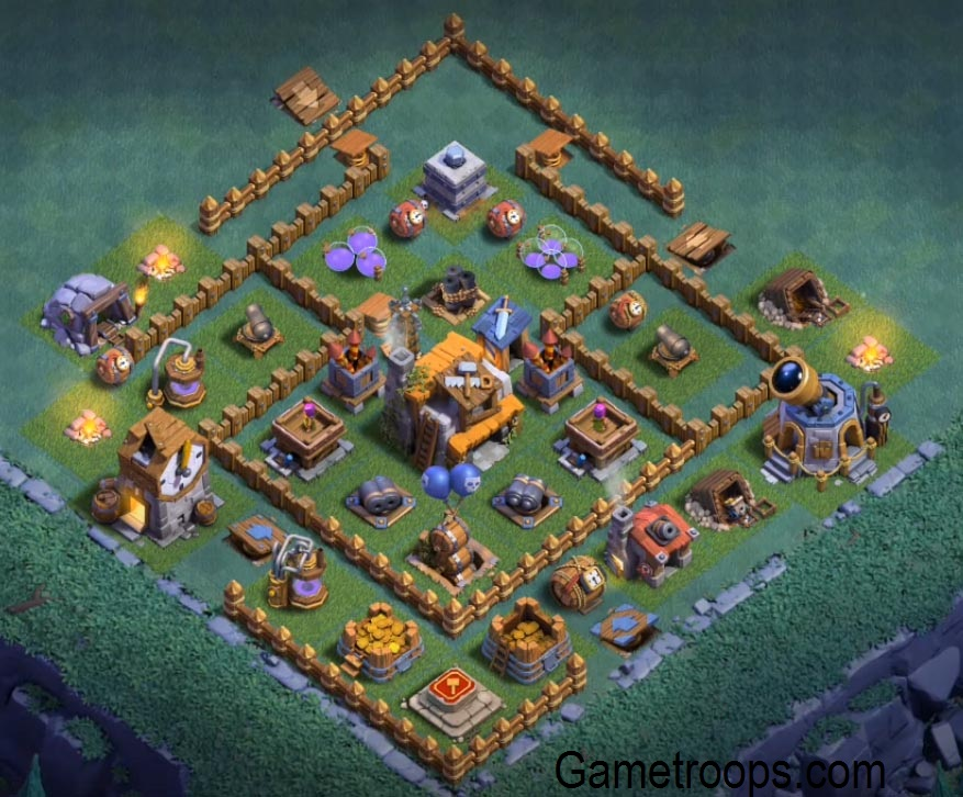 Base Builder Hall  Max Clash Of Clans