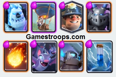 Miner Balloon Decks Arena 9