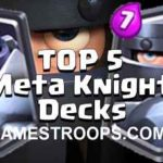 Clash Royale Top 5 Best Mega Knight Decks 2017 Mega Knight Decks