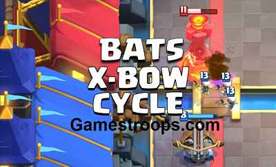 Mini Pekka X bow Bats Deck